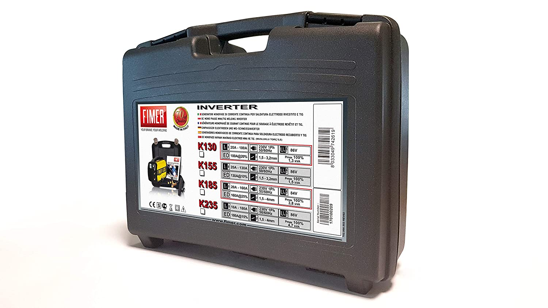 Fimer 5 K1.235.03 Kit soldador inverter MMA electrodo 180: Amazon.es: Industria, empresas y ciencia