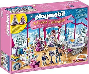 Calendrier De Lavent Playmobil 2021 Playmobil   Calendrier de l'Avent Bal de Noël Salon de Cristal