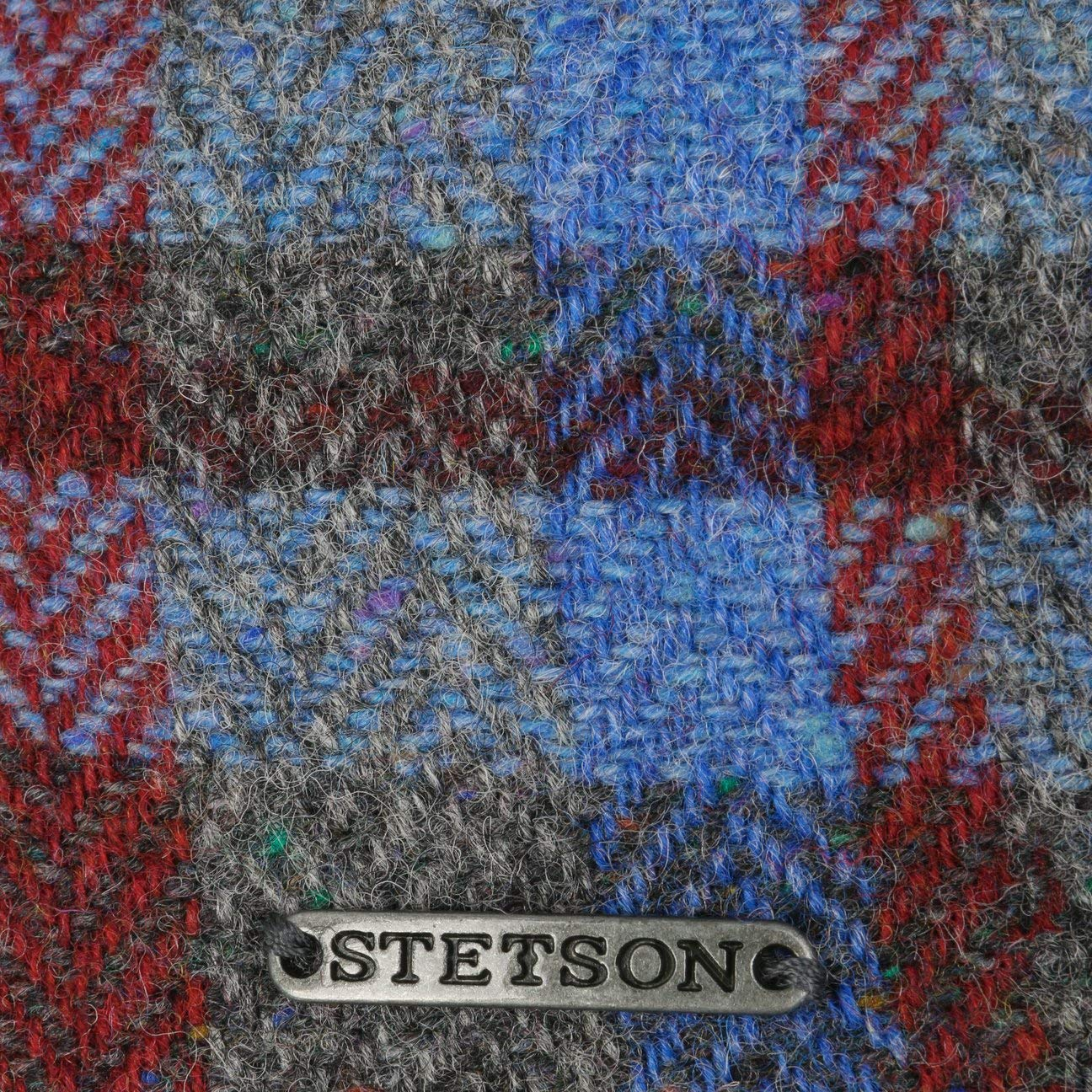 Stetson Gorra Lana de Cordero Patchwork Hombre Forro oto/ño//Invierno Made in The EU Gorro Ivy con Visera