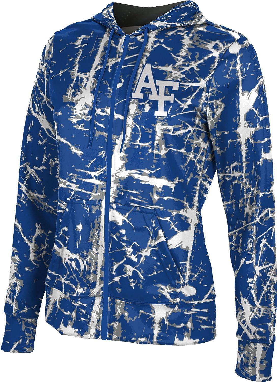 Distressed Air Force Academy Girls Zipper Hoodie School Spirit Sweatshirt ProSphere U.S