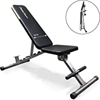 Fitness Reality 1000 Super Max Adjustable Weight Bench with Upgraded Wider Backrest/Seat