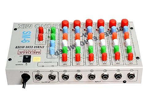 Medha DJ Plus Iron Sound Mixer ,Black