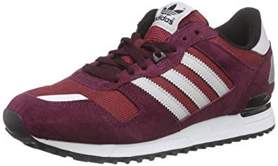 adidas - Originals ZX 700 - Baskets mode - Homme - Rouge (Collegiate Burgundy/