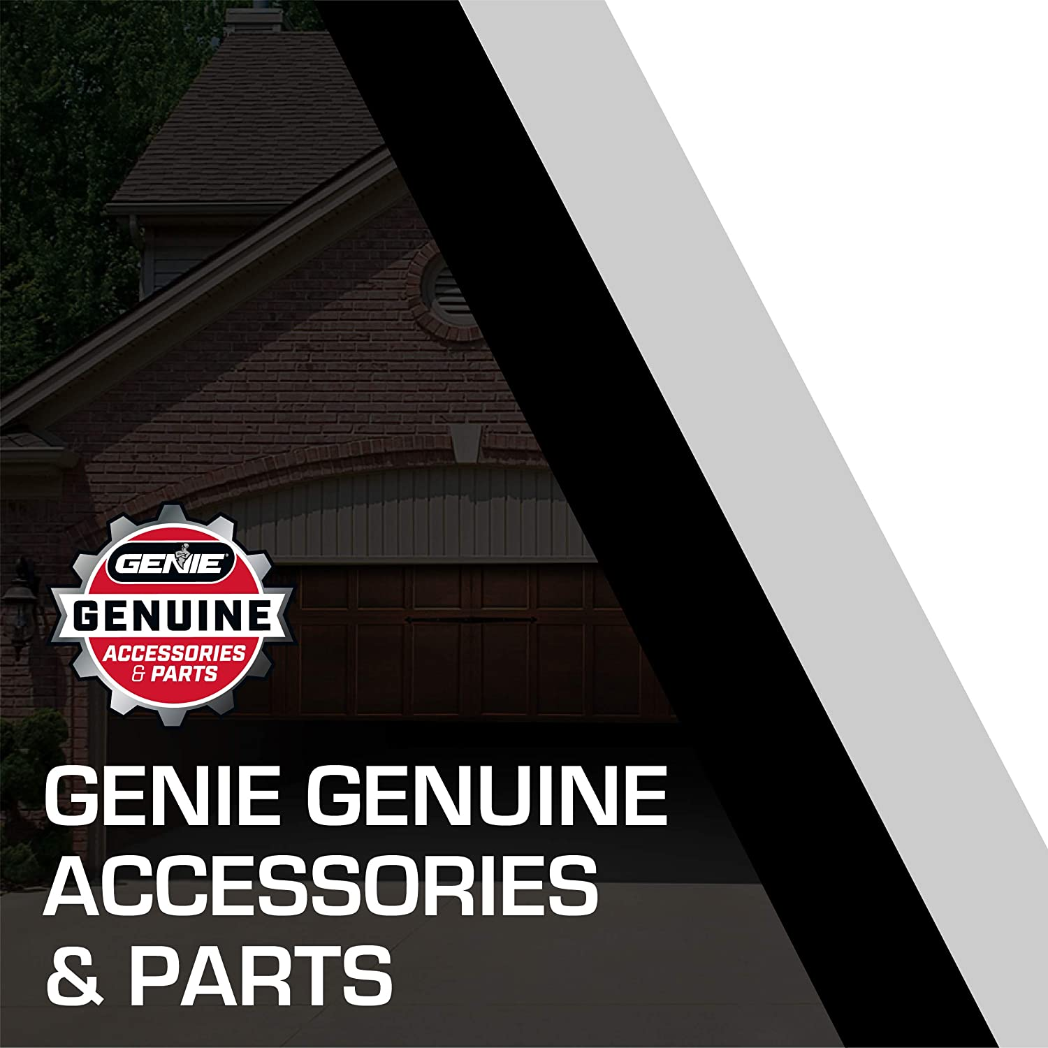 Genie Single Button Garage Door Opener Remotes Each Remote Compatibile Only with Genie Intellicode Garage Door Openers Model G1T-New 2 Pack - Safe /& Secure Access