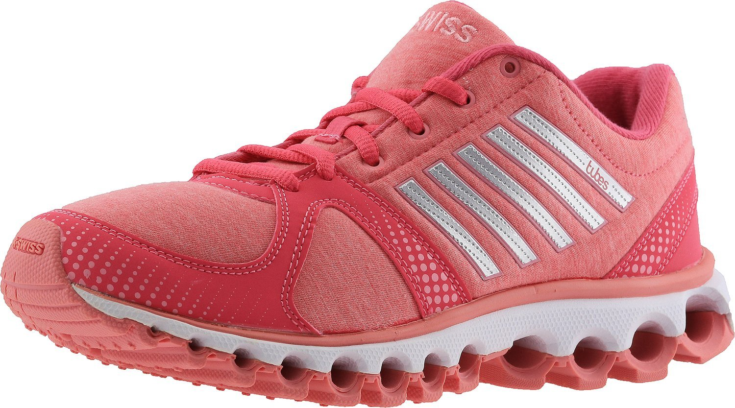 K-Swiss Women's X-160 Heather CMF Cross-Trainer Shoe, Honeysuckle/Geranium Pink, 8.5 M US