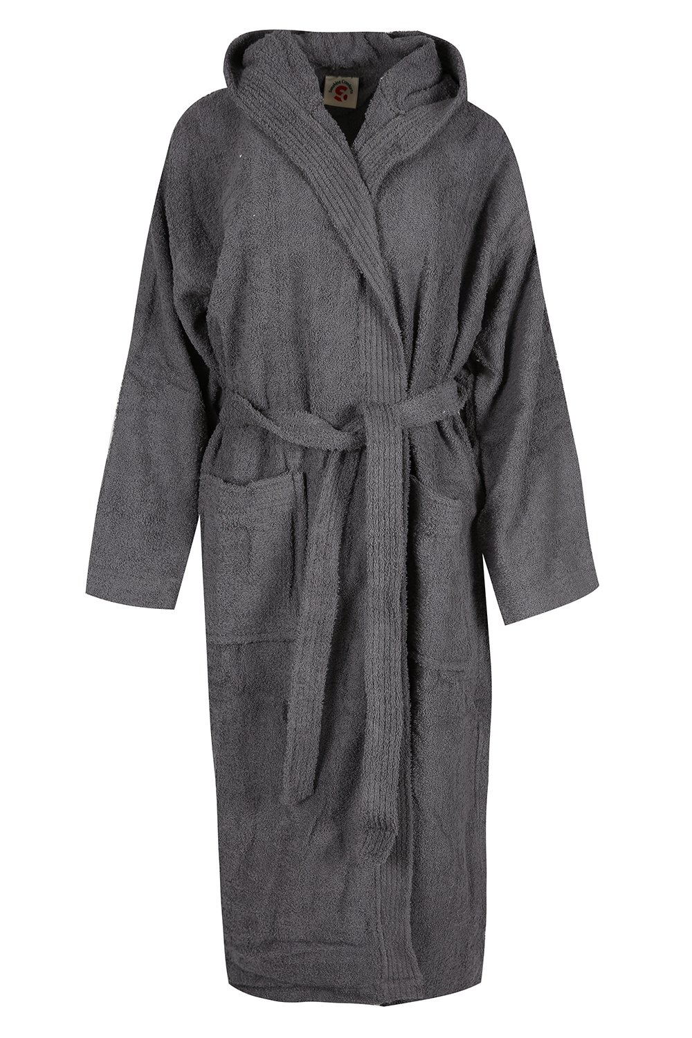 UNISEX Luxury Dressing Gown 100/% Egyptian Cotton Terry Towelling Hooded Bathrobe