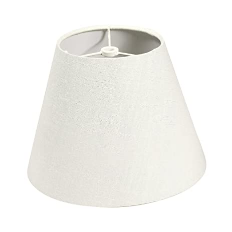Lamp shade imisi linen fabric white lamp shade small 5 top lamp shade imisi linen fabric white lamp shade small 5quot top diameter x 9quot mozeypictures Images