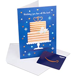 Gift Card in a Premium Greeting Card by American Greetings (Wedding Cake Design) Link Image
