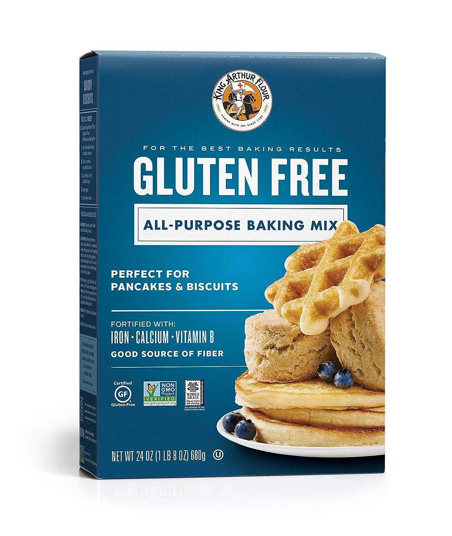 King Arthur Flour Gluten Free All Purpose Baking Mix 24 Ounce Pack Of 6