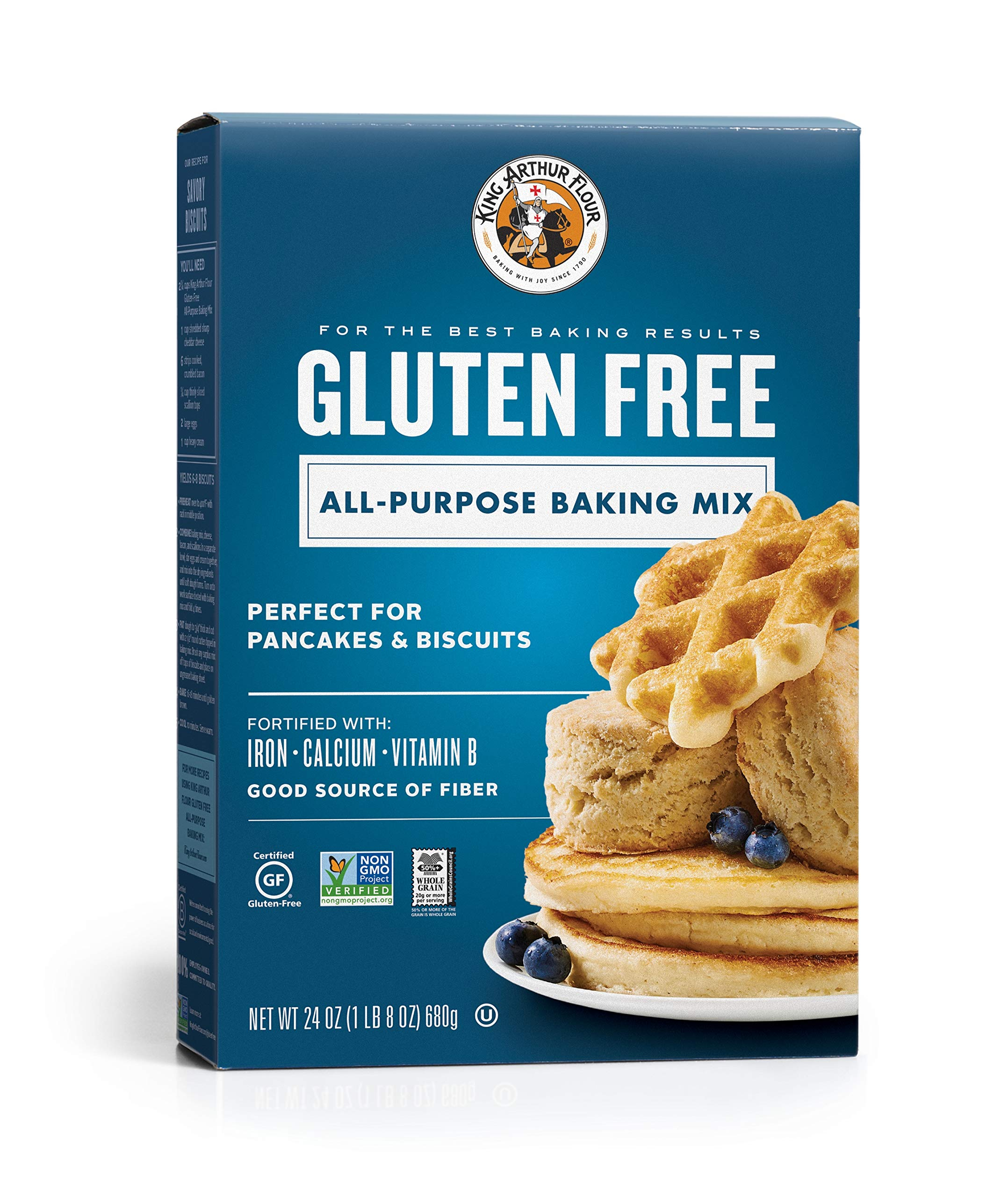KING ARTHUR FLOUR Gluten Free All-Purpose Baking Mix, 24 Ounce, Pack of 6 by King Arthur Flour