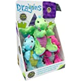 TrustyPup Dog Toys - Dragons (Small - 3 pk.)