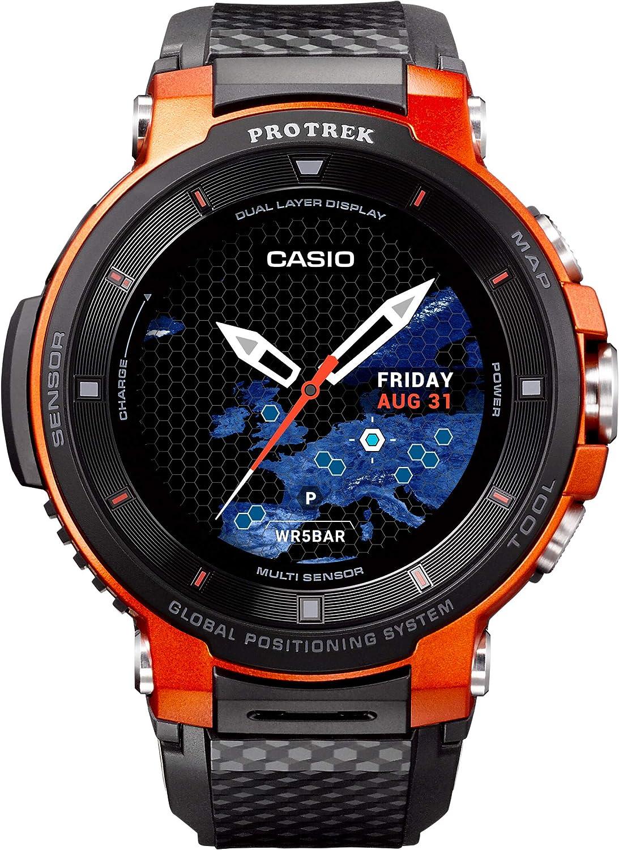 Casio Reloj para de Cuarzo con Correa en Resina WSD-F30-RGBAE