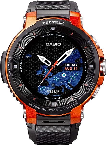 Casio Reloj para de Cuarzo con Correa en Resina WSD-F30-RGBAE ...