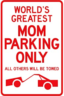 sano naturals best mom gifts worlds greatest mom parking sign top gifts for mom