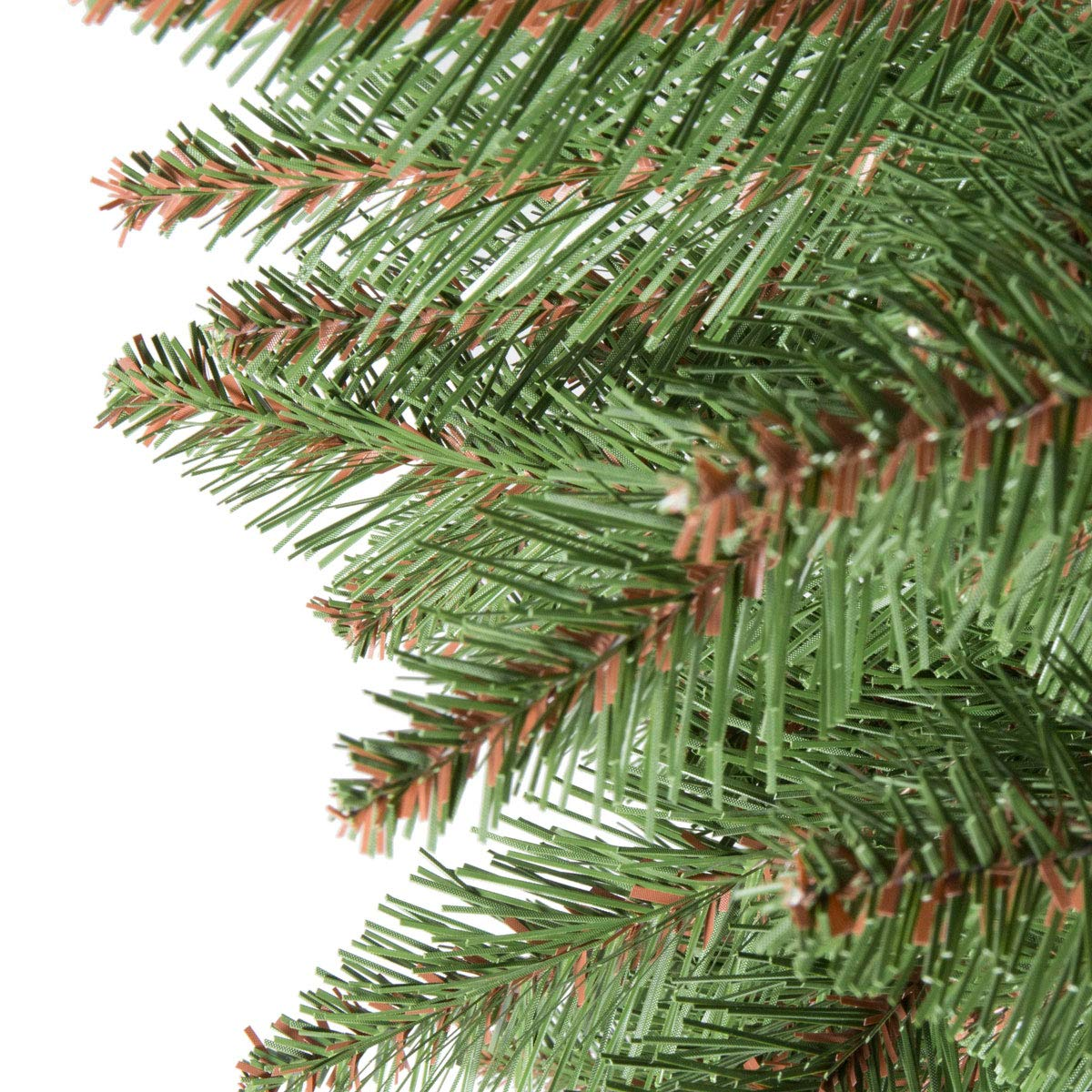 Weihnachtsbaum Künstlich Nordmanntanne.Fairytrees Künstlicher Weihnachtsbaum Nordmanntanne Grüner Stamm