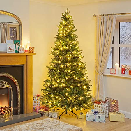 4ft pre lit latvian pine pe led pop up christmas tree - Pop Up Pre Lit And Decorated Led Christmas Tree