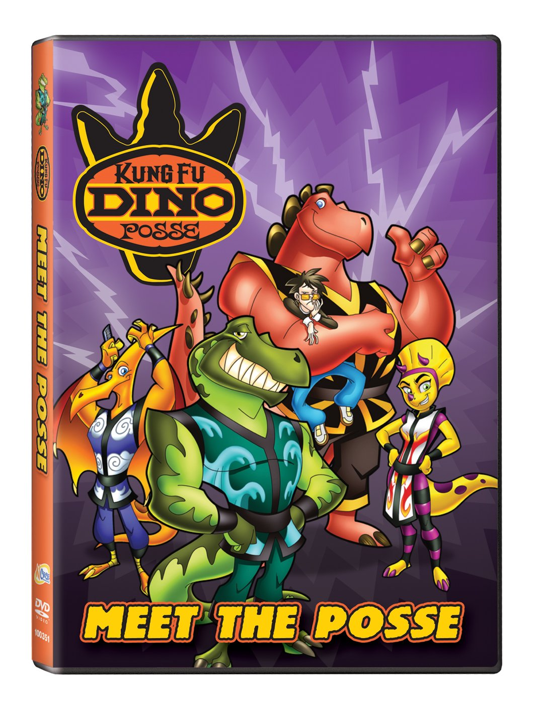 Kung Fu Dino Posse: Meet the Posse Reino Unido DVD: Amazon ...