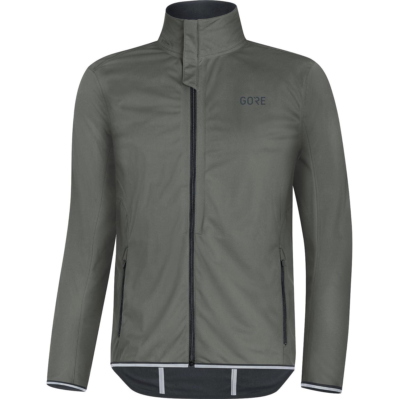 Castor gris S GORE Wear Homme Veste de Course Coupe-vent, GORE R3 GORE WINDSTOPPER veste, Taille  S, Couleur  gris, 100061
