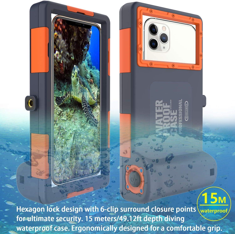 Custodia Impermeabile Subacquea per Telefono 15M/50ft Impermeable para iPhone
