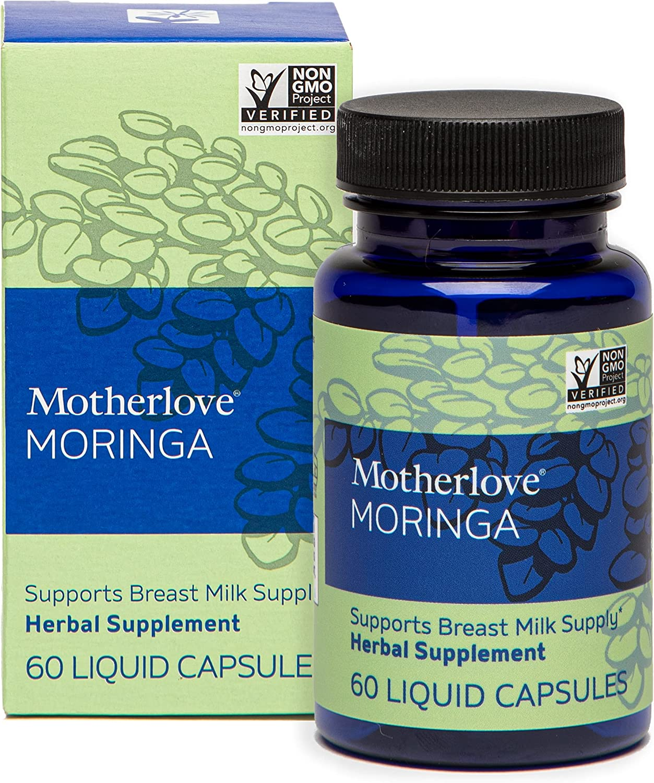 Motherlove Opening large release sale Malunggay Moringa Vegan Herbal 60ct Brea 2021new shipping free Capsules