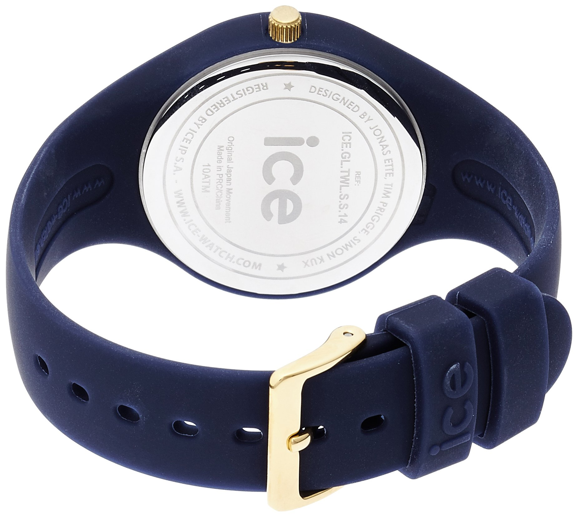 Ice Watch ICE Glam Forest ICE.GL.TWL.S.S.14 Wristwatch for women Silicone strap