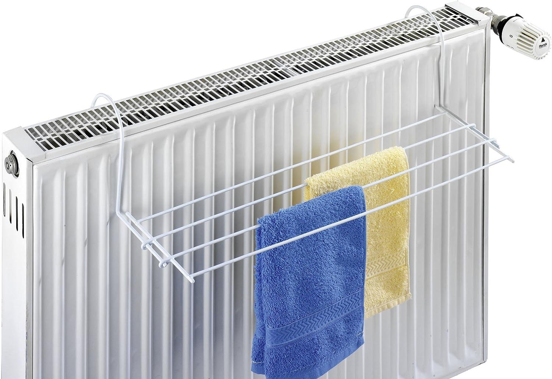 Wenko 3780010100 Radiator Dryer, 58 x 16 x 15 cm, White