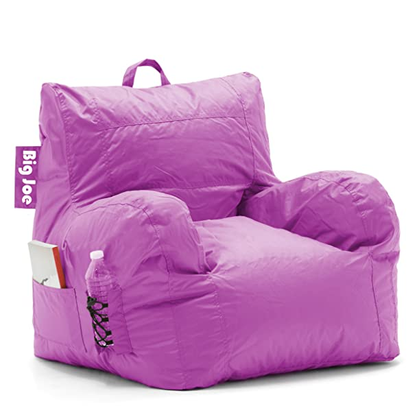 Amazon Big Joe Dorm Bean Bag Chair Radiant Orchid Kitchen Dining