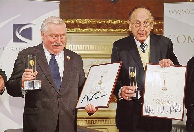 ++Aussenminister++ Hans-Dietrich Genscher +Autogramm+