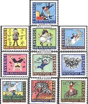 Briefmarken f/ür Sammler Comics 1984 Walt Disn Prophila Collection Bhutan 888A-896A Figur Donald Duck kompl.Ausg.