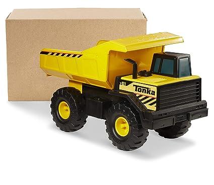 Tonka Toy Trucks >> Amazon Com Tonka Classic Steel Mighty Dump Truck Ffp Toys Games
