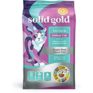 Solid Gold - Lets Stay In - Grain-Free - Indoor Formula Dry Cat Food