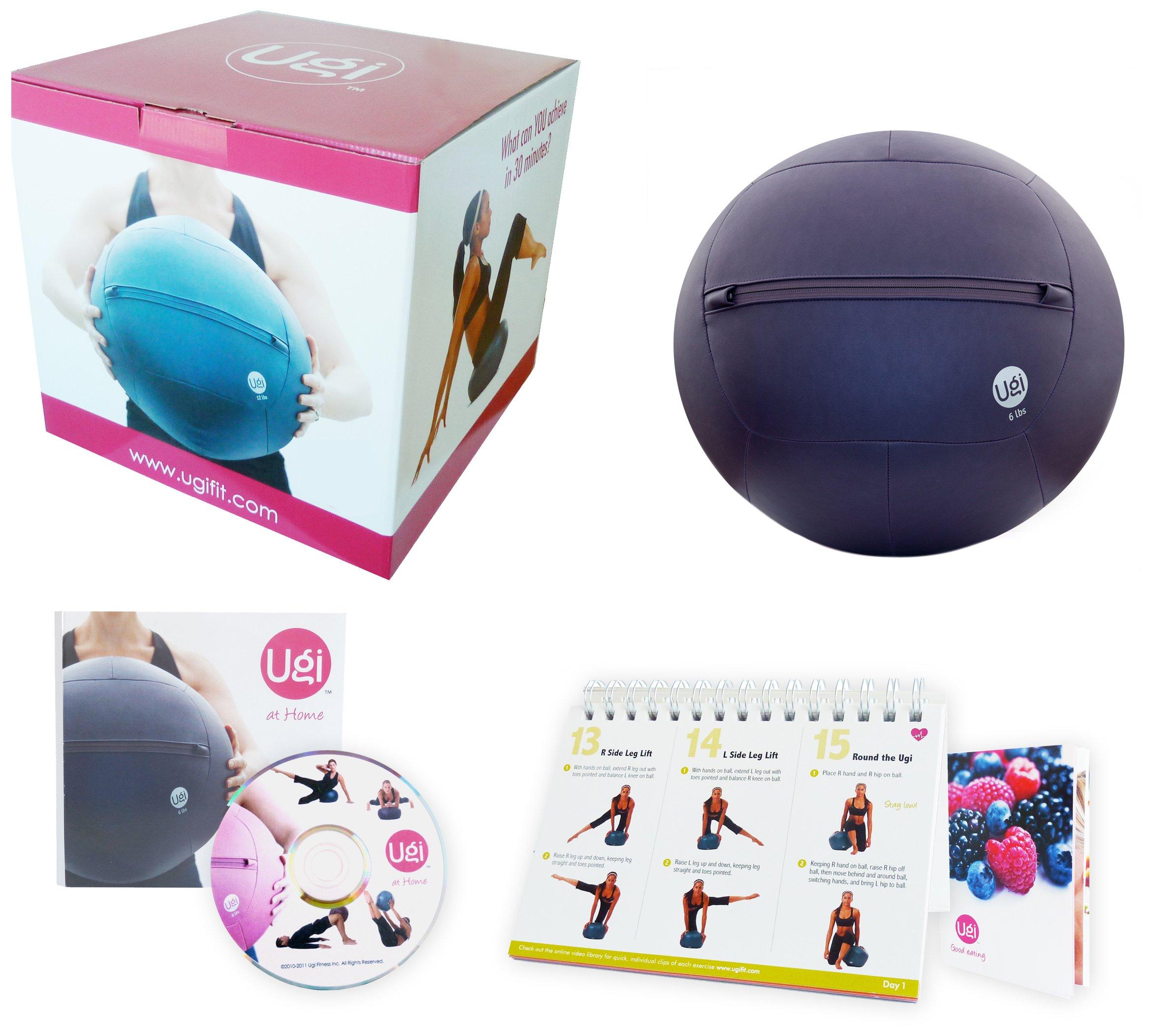 Ugi Fitness at Home Kit (6-Pound, Purple)