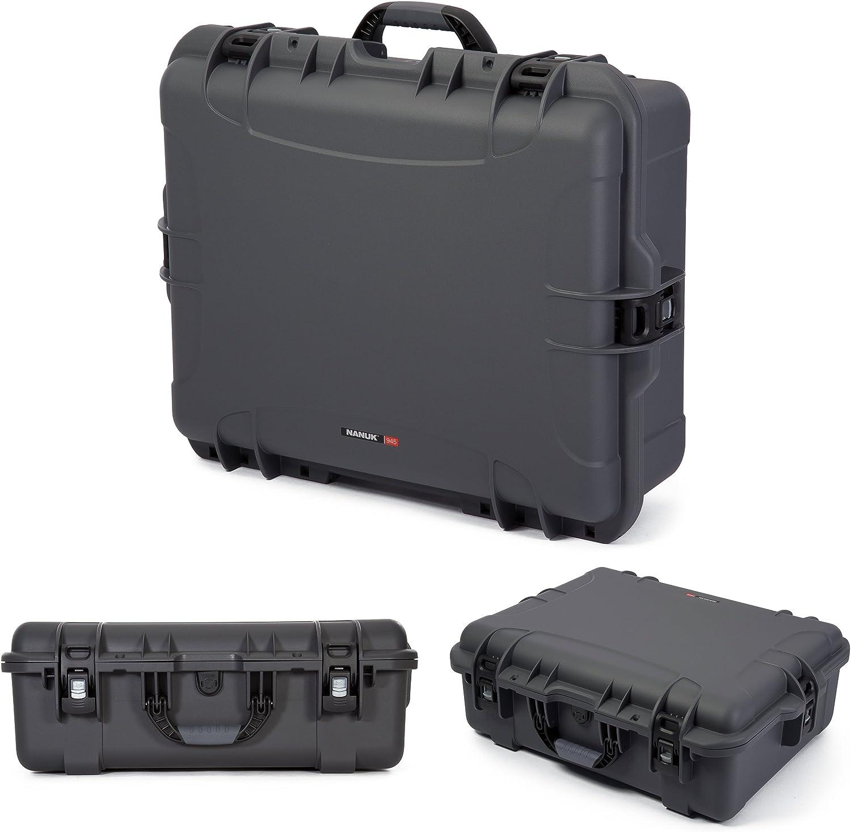 Nanuk 920 Wasserdichte Hartschale Hartschale Graphit Kamera