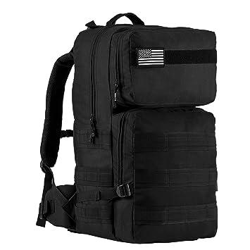 Amazon.com : Aurosports 55L Tactical Backpack Military Assault ...