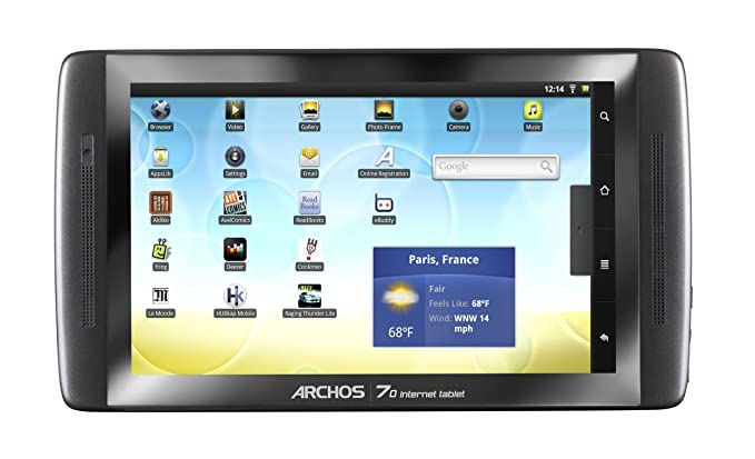appslib archos 7 home tablet