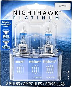 GE Lighting 9006NHP/BP2 Nighthawk Platinum Halogen Replacement Bulb, 2-Pack