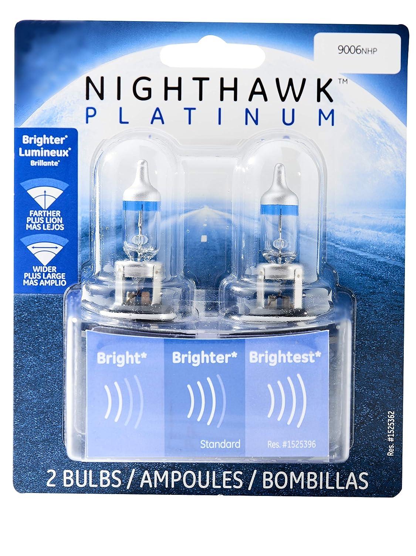 GE Lighting 9006NHP/BP2 Nighthawk Platinum Halogen Replacement Bulb