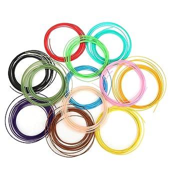 Impresora 3d filamento para impresora de lápiz Multicolor 3d ...