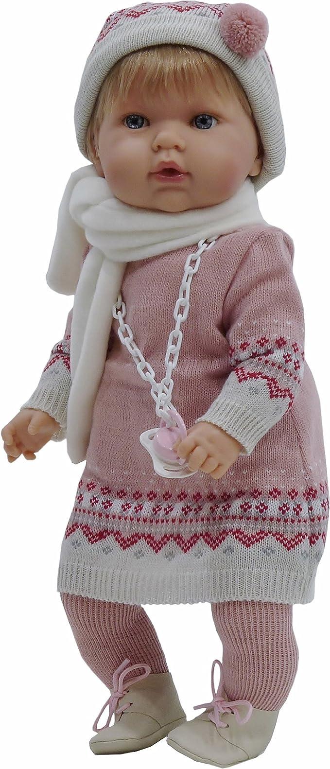 Amazon.es: Tita muñeca bebé con chupete (R/1080), con un bonito ...