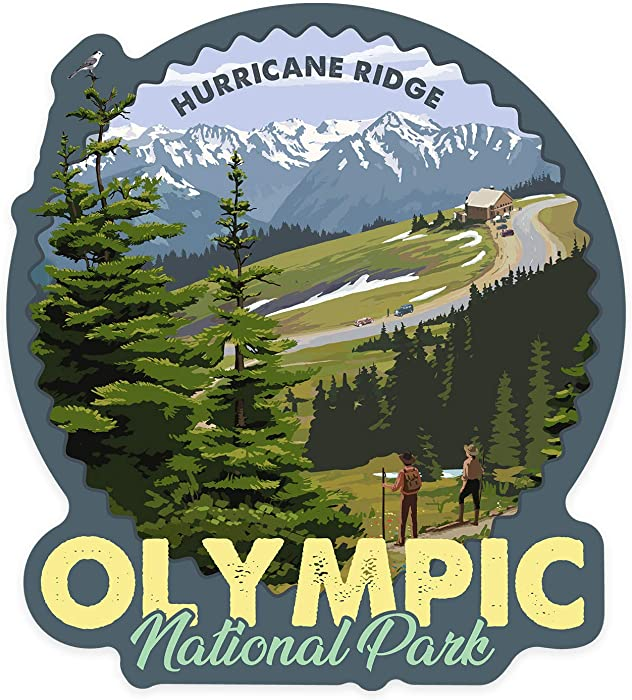 Top 10 Hurricane Ridge Sticker