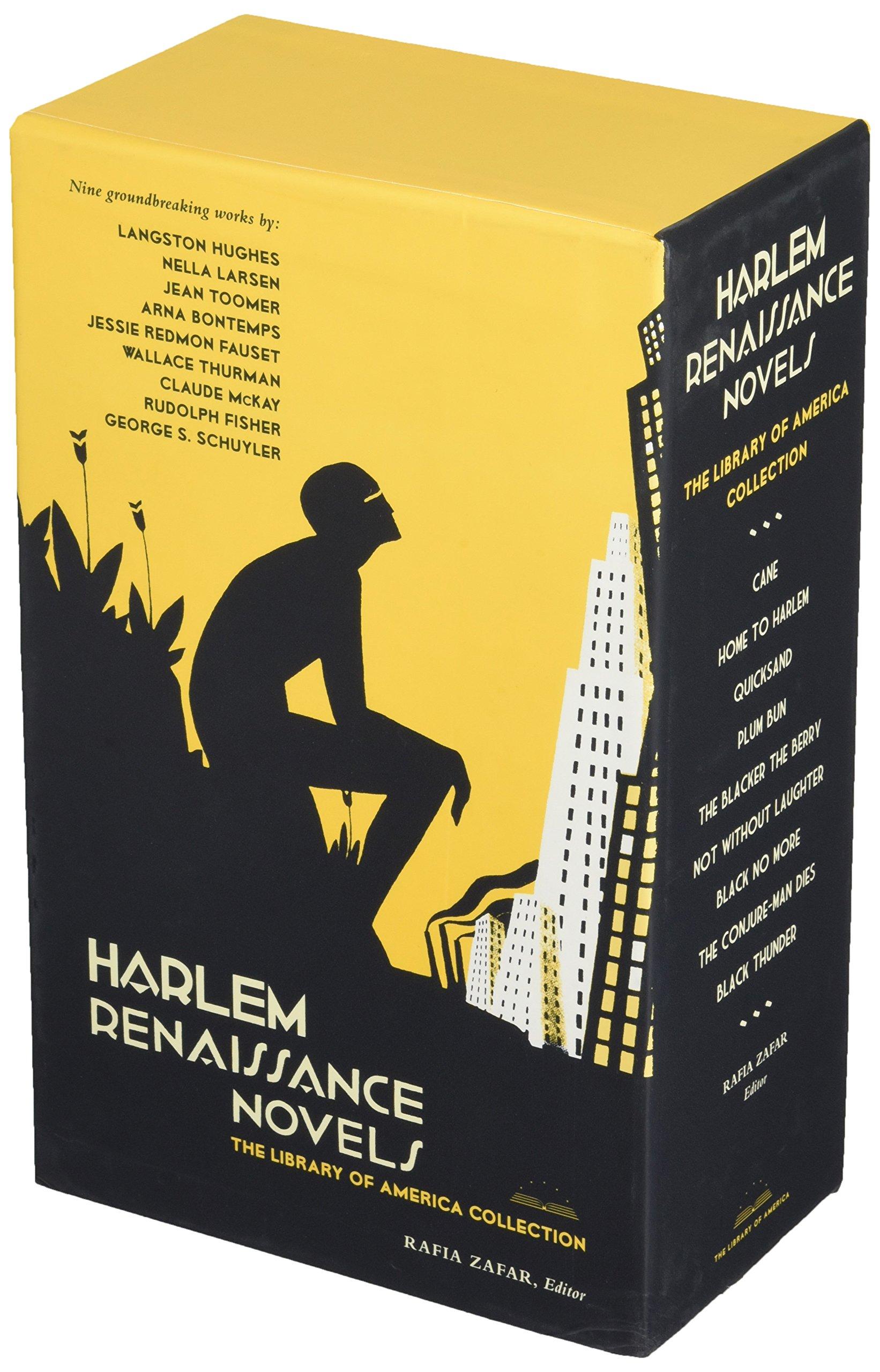 Amazon Harlem Renaissance Novels The Library Of America Collection Two Volume Boxed Set 9781598531060 Rafia Zafar Books