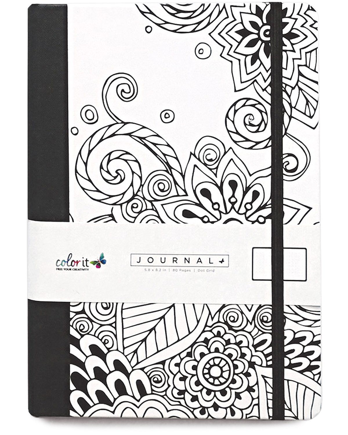 doodle book adults dot grid journal notebook