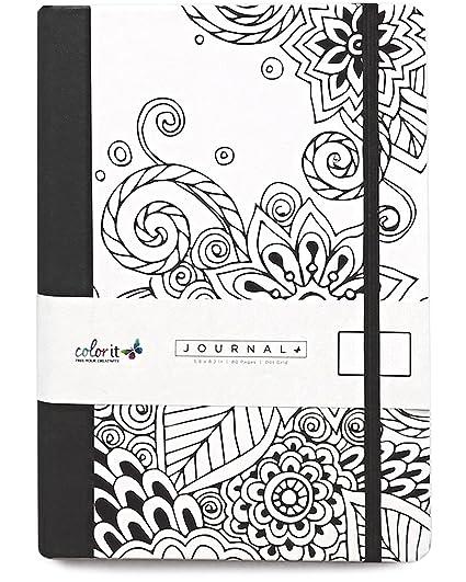 doodle book adults dot grid journal notebook