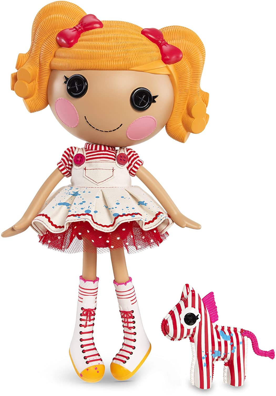 2013 Lalaloopsy Spot Splatter Splash Full Size Doll /& Pet /& Bonus Mini Doll NEW