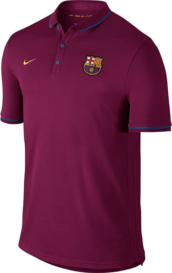 Nike FCB Auth League Polo - Polo Fútbol Club Barcelona 2015/2016 ...