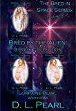 Bred by the Alien: 3 Book Collection: Bred in Space Volume 2 (The Bred in Space Series)