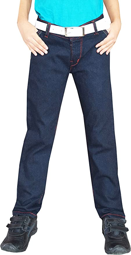 Tara Lifestyle Slim fit Denim Black Jeans Pant for Kids-Boys Jeans Pant Boys' Jeans at amazon