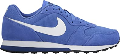 the best attitude ec8cc aad16 Nike MD Runner 2 (GS), Chaussures de Tennis garçon, Bleu (Comet ...