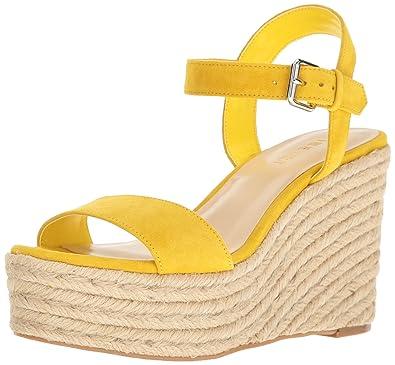 915ef8553c Amazon.com   Nine West Women's Doitright Suede Wedge Sandal ...