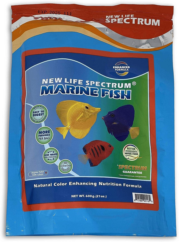 New Life Spectrum Marine Fish Regular Pellet Bag, 600g